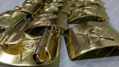 Бляхи латунные для армейского ремня звезда купить оптом