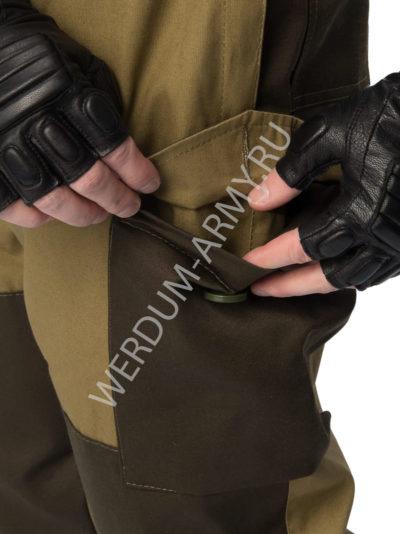 костюм горка 6 на флисе хаки купить в интернете
