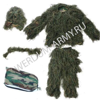 Маскировочный костюм Леший зеленый купить