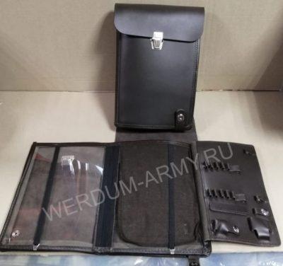 планшет коричневый офицерский кожаный купить оптом