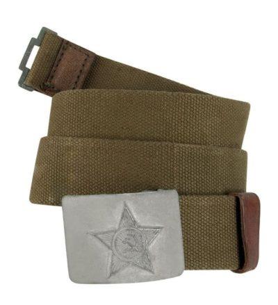 Ремень солдатский СССР брезентовый купить