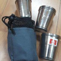 Рюмки нержавеющие (6 шт) в чехле