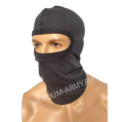 шапка маска летняя черная купить оптом