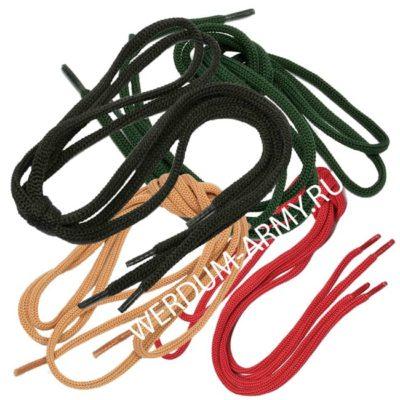 шнурки армейские для берц 170 190 210 см купить оптом недорого