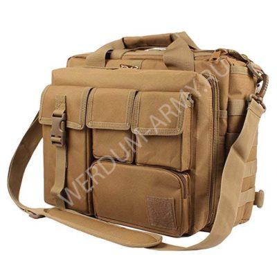 сумка-портфель тактический для ноутбука купить