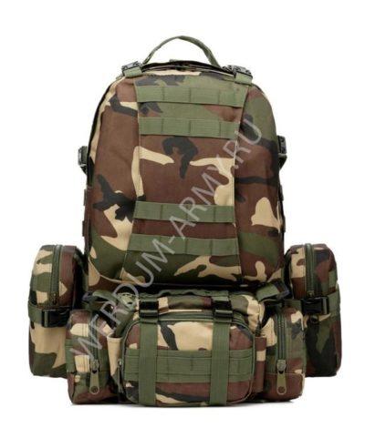 Тактический рюкзак 40 л вудланд купить