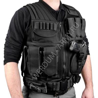 купить разгрузочный жилет черный