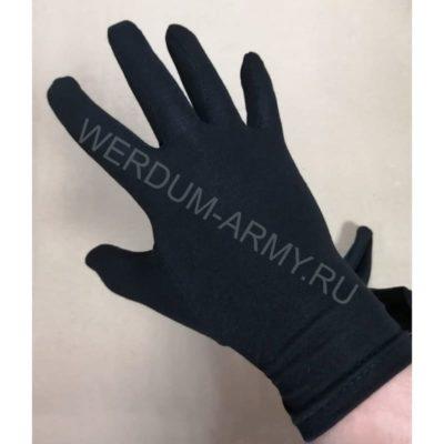 Перчатки черные для официантов ХБ 103м купить в Москве