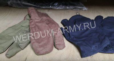 Рукавицы трехпалые армейские утепленные купить