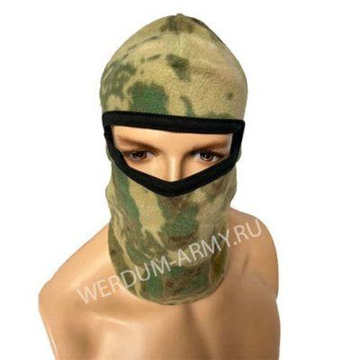 Шапка-маска флисовая мох купить
