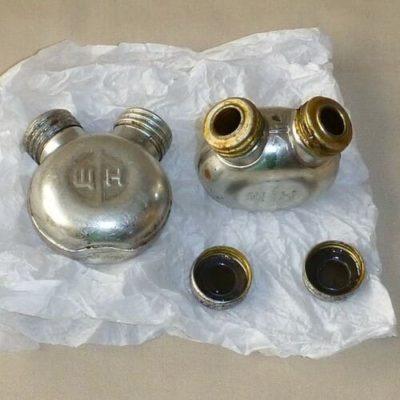 Масленка двухгорловая АКМ, КО-91-30, КО-44 Мосина купить